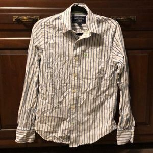 Abercrombie & Fitch Pinstripe Button Down Shirt S